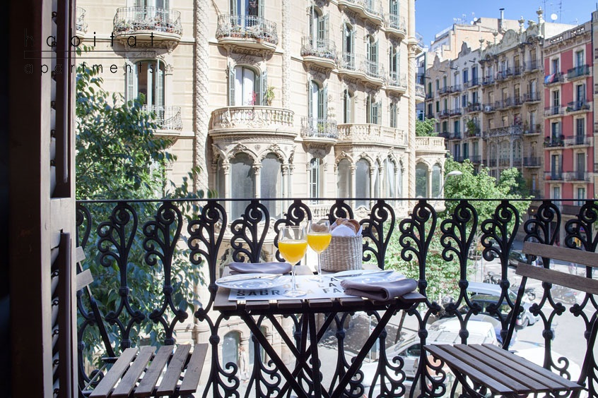 barcelona balconies apartment barcelona balcony view a November in Barcelona   Some great things to do