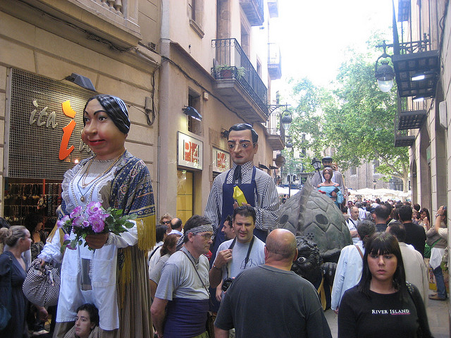 bcn parade David Weekly Agosto a Barcellona