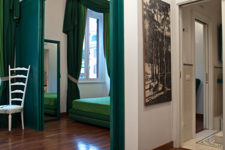 borghese apartment rome green b New apartments in Rome!