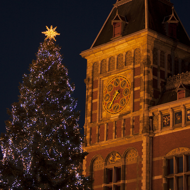 christmas tree amsterdam