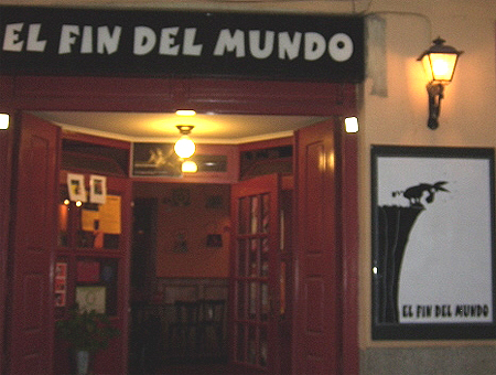 el fin del mundo madrid El Fin del Mundo Bar in Madrid