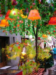 festa major gracia Decoración Fêtes de Gracia. Barcelona