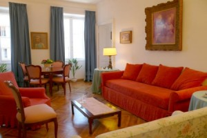flaminio garden apartment rome lounge b 300x200 New Rome Apartments
