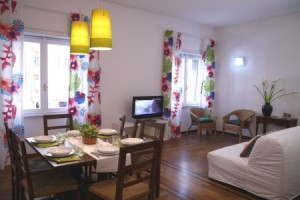 flaminio modern apartment rome living area b 300x200 Large Group Holidays in Rome from 26 euros ppn