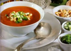 gazpacho Traditionele gerechten in Marbella