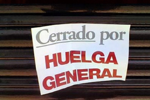 general strike spain 29 march