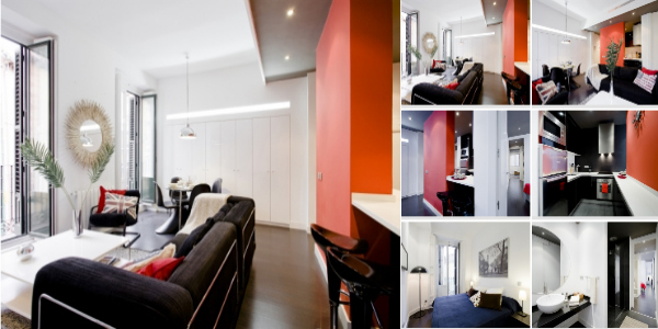 latina black apartment madrid