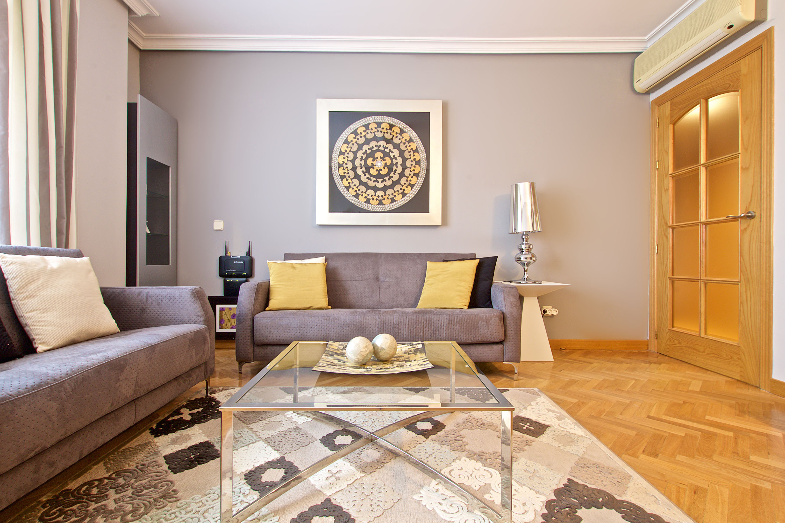 latina nature apartment madrid living dining room 6 Madrid's district, this month: La Latina