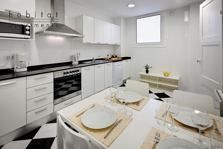 lauria gallery apartment kitchen Lauria Building   stay in a lively area
