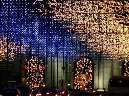 luces navidad1 Christmas in Madrid