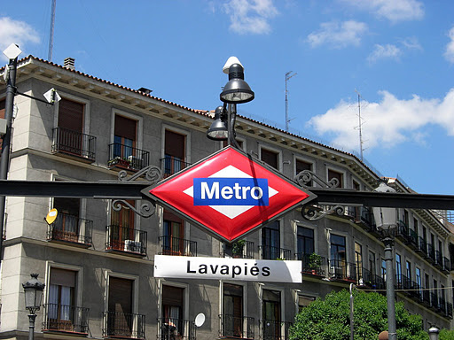 metro lavapies El Fin del Mundo Bar in Madrid