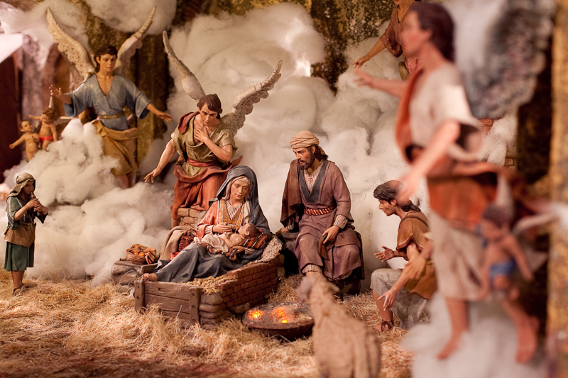 nativity scene madrid