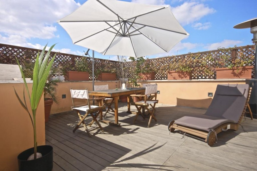 pineto attic apartment rome terrace November in Rome   everything the heart desires