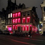 red light street. Amsterdam