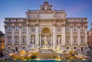 rome fontana trevi 300x202 5 must see attractions in Rome