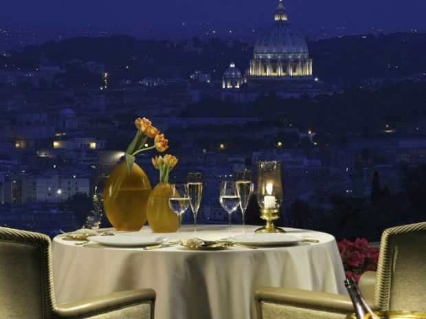 rome lapergola Rome: Discover Its TOP 5 Restaurants