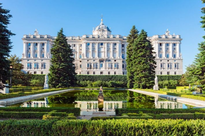 royal palace madrid spain shutterstock 658950217 1024x683 e1579001245215 February in Madrid