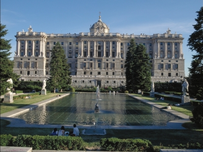 royal palace madrid  El Palacio Real de Madrid
