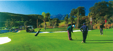 Golf Club Santa Clara. Marbella