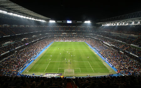 bernabeu stadium Madrid