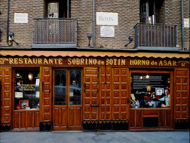 Restaurant Madrid February 2015