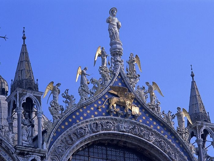 venice saint mark April in Venice