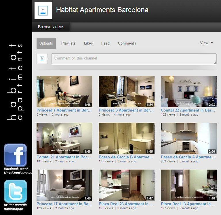 youtube habitat apartments Habitat Youtube channel